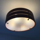 木製シーリングライト LED 電球付き