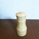 新品 木製 ナチュラルな調味料入れ 卓上ソルト&ペッパー