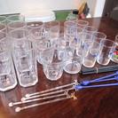 《飲食店様歓迎》 グラス各種 ぜーんぶ 差し上げます!