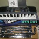 電子キーボード カシオCTK601