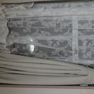 [売り切れ] 遮光カーテン + 可愛いレースカーテン (2枚組×2種類)