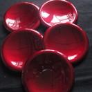 玉虫塗 銘々皿 5個セット 未使用