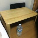 木製 折りたたみできるローテーブル