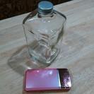 かわいい空き瓶(ウイスキーの空き瓶) 用途はあなた次第!インテリア...
