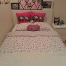 IKEA イケア セミダブル 収納付きベッド & ホワイトチェスト