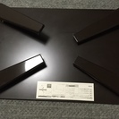 山善 ローテーブル  TWL-7550(DBR)