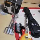 ほとんど新品!  初心者用だと思います。エレキギターとアンプのセット