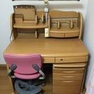 学習机、椅子セット