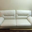 美品!白地のソファー