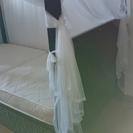 バリ風 天蓋つきベッド(交渉中)