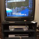 ブラウン管テレビ 25インチ  シャープ製