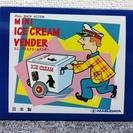 ブリキ ミニアイスクリームベンダー