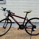 アルファロメオ クロスバイク(ワインレッド)