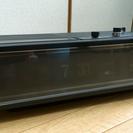 1970年製  の  古いFMラジオ付き  時計