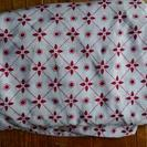 ダブルベッド用ベッドカバー3枚と布団カバー4枚