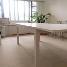 IKEA ダイニングテーブル(白)
