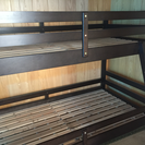 【取引中】二段ベッド、洗濯機、冷蔵庫