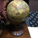 アンティーク風の地球儀「値下げしました」