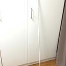 無印良品 スチールアジャスターポール  ホワイト 突っ張り棒