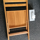 折りたたみ椅子 ナチュラル