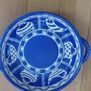 (お値下げしました)青色の陶器(5枚セット)