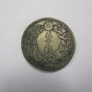 【明治42年】五十銭◆銀貨◆硬貨◆50銭◆古銭◆昔のお金