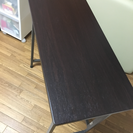 折りたたみ式の机です!