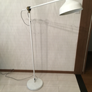 IKEA フロアランプ格安です(ほぼ新品)