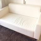 IKEA 2人掛けソファ