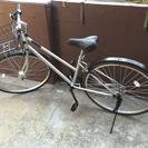 自転車 27インチ カゴ・カギあり
