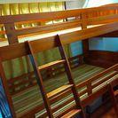 床下収納たっぷり可能な2段ベッド