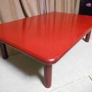【お届けします】高級感漂う漆塗りの座卓