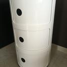 コンポニビリ3段リプロダクト品 収納 カラーボックス