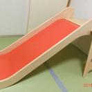 イケア 木製の滑り台