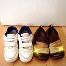 16㎝ 男の子 靴 2点セット コンバース IFME