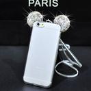 NEWクリスタル イヤー iPhoneケース(iPhone6/6s...