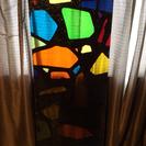 ステンドガラス柄 アクリル板