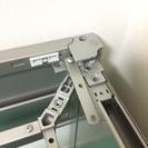 オフィス用L型デスク ワゴン 革風チェア 3点セット