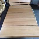 木製セミダブルベッド ロースタイル 定価8万位