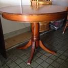 【取引成立】ヨーロッパ製 円形食卓テーブル