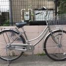 26インチ サイモト自転車 BAAマーク付き 内装3段 シルバー ...