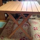 《取引成立》折りたたみ式 ガーデンテーブル