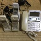 電話機 子機3台付き