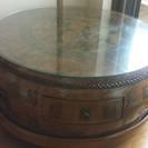アンティーク 太鼓テーブル