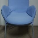 【値下げました】青い椅子
