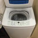 洗濯機 haier jw-k42k 4.2㎏