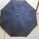 ミラショーンの黒い傘 日傘、雨傘両用
