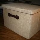 (売り切れ) 折りたたみ 収納ボックス フタ付き