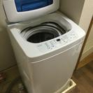 1年使用のみ。4.2kg対応洗濯機です。
