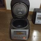 TOSHIBA製3合炊き炊飯器。無料です。